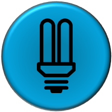A LED Lighting BUTTON